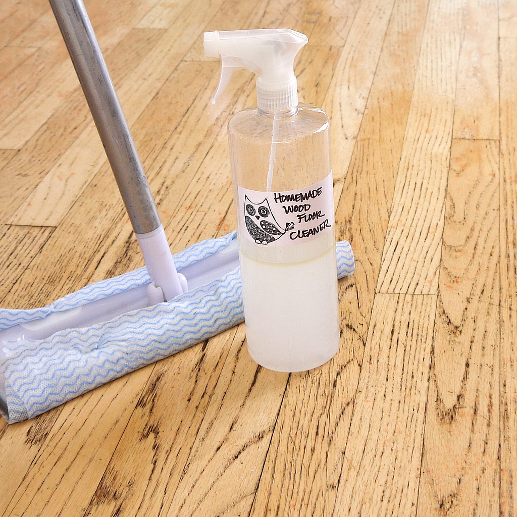 Homemade wood floor cleaner popsugar smart living for Hardwood floor cleaner