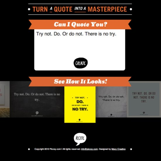Quote Poster Maker