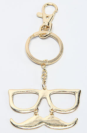 We mustache you a question: have you ever seen a key chain trendier than this Accessories Boutique key fob ($3, originally $12)? Score it now, or shave it for later.