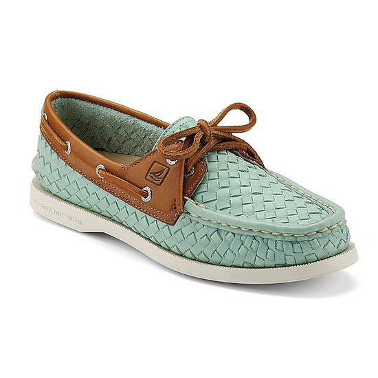 "<a href=""http:/... target=""_blank"">Authentic Original 2-Eye Boat Shoe</a>, $125"