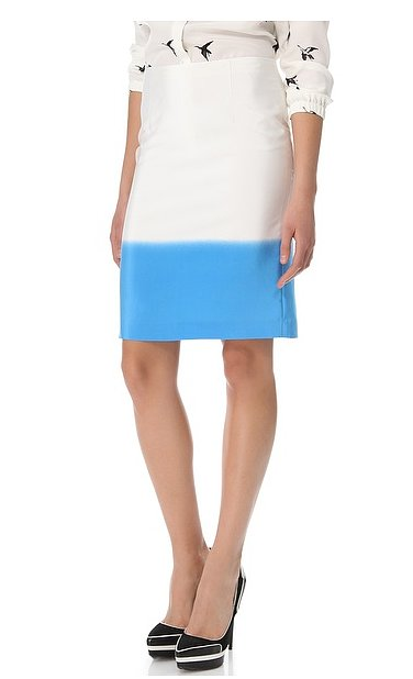 Tibi's fade out pencil skirt ($158, originally $315) might just be the coolest thing to happen to your office wardrobe.