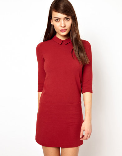 Sessun Drop Waist Dress in Crepe Jersey