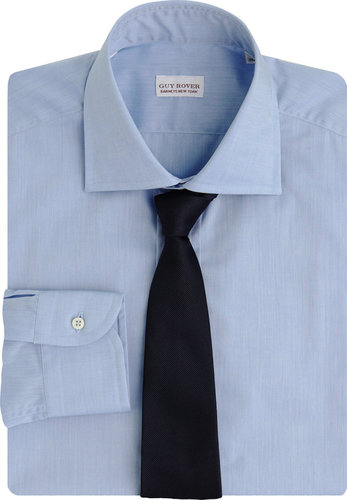 Guy Rover Solid Dress Shirt