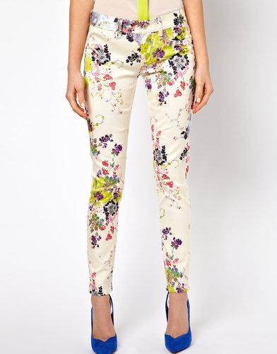 Ted Baker Skinny Jeans in Summer Bloom Print
