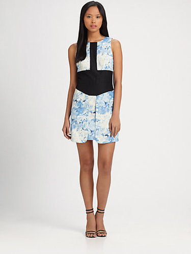Tibi Daisies Sleeveless Dress