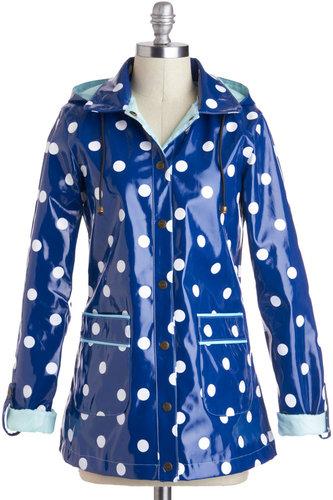 Yumi Rain Dots Keep Falling Raincoat