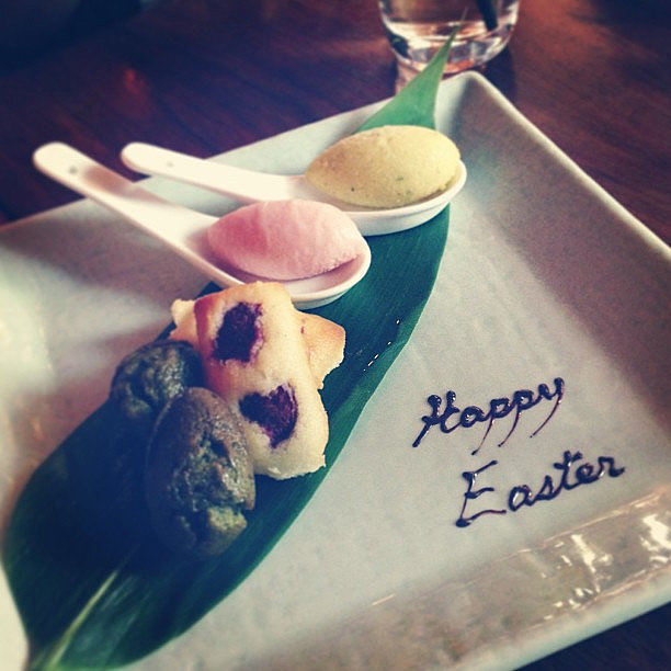 Jesinta Campbell indulged in some Easter desserts. Source: Instagram user jesinta_campbell