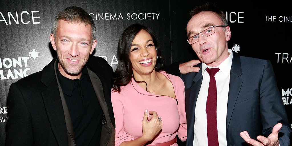 Rosario Dawson Jokes With Ex Danny Boyle at Trance Premiere