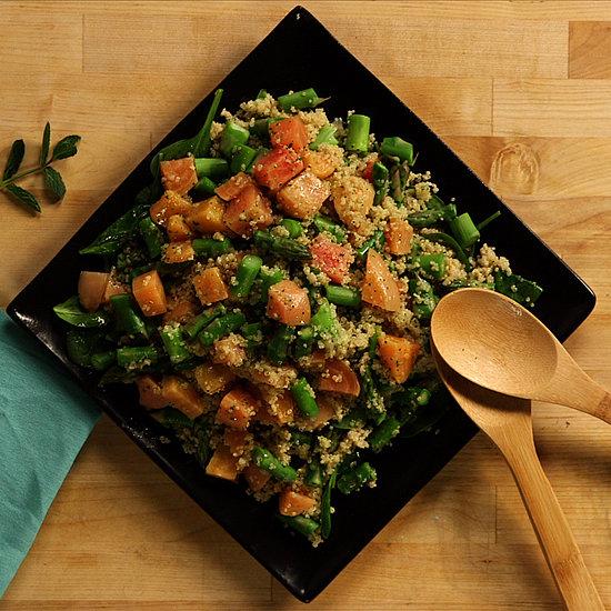 Slightly Restrained: Asparagus Detox Salad