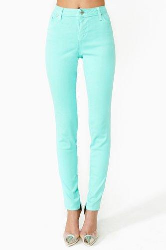 Stunner Skinny Jeans - Mint