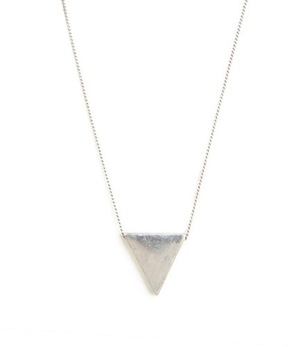 Silver Triad Pendant