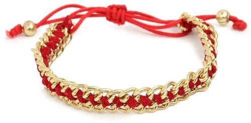 Crimson Chain Bracelet