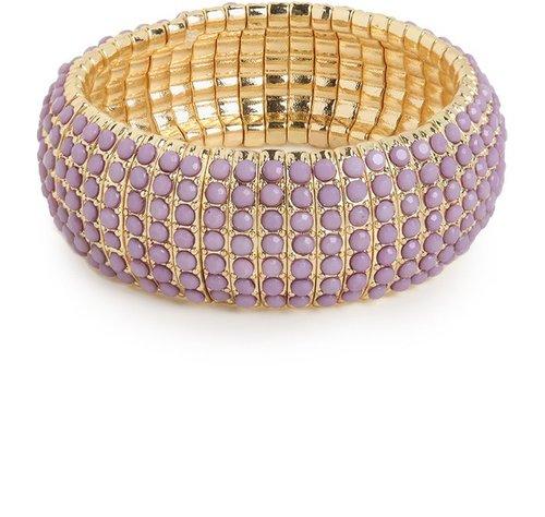 Lilac Coral Cuff