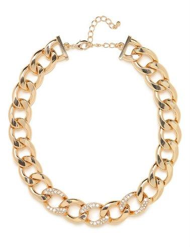 Gold Ice Chain Collar