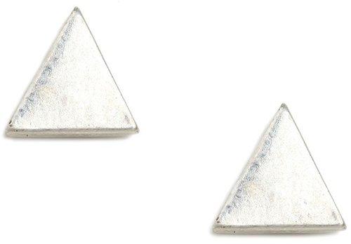 Silver Triad Studs