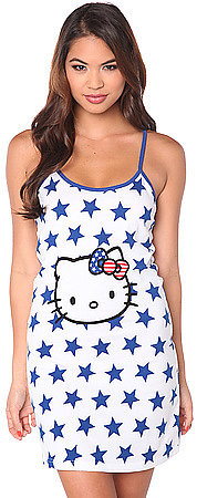 Hello Kitty Intimates The Kitty Cool Star Printed Chemise