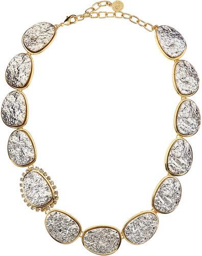 R.J. Graziano Druzy Necklace, Golden