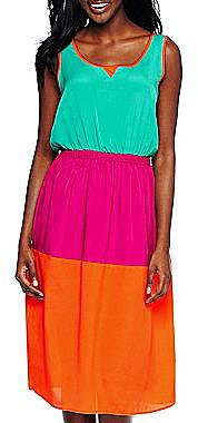 Allen B.® Colorblock Dress