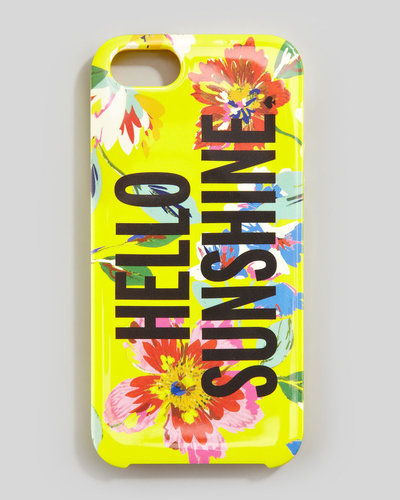 kate spade new york hello sunshine iPhone 5 case