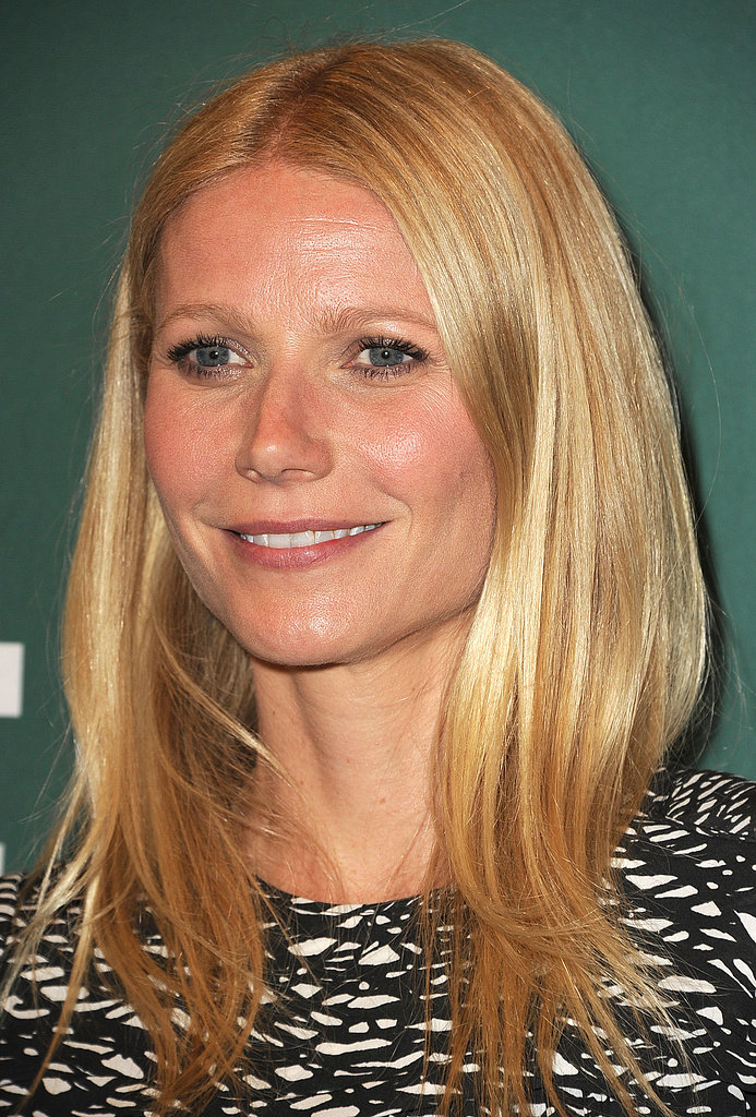 Gwyneth Celebrates Her Cookbook With Support From Chris and Her Kids