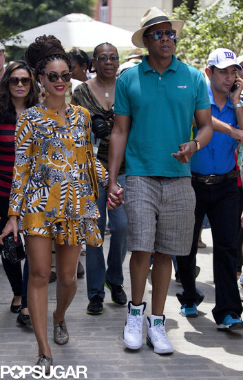 Beyoncé and Jay-Z Show PDA During a Trip to Cuba