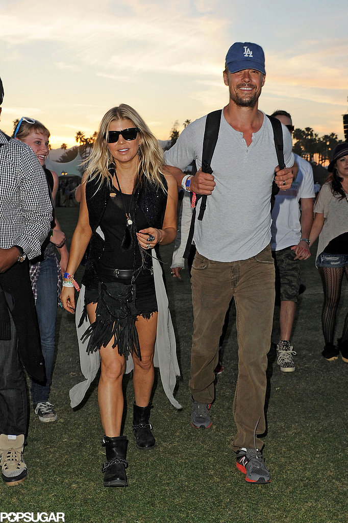 Fergie and Josh Duhamel popped up at th