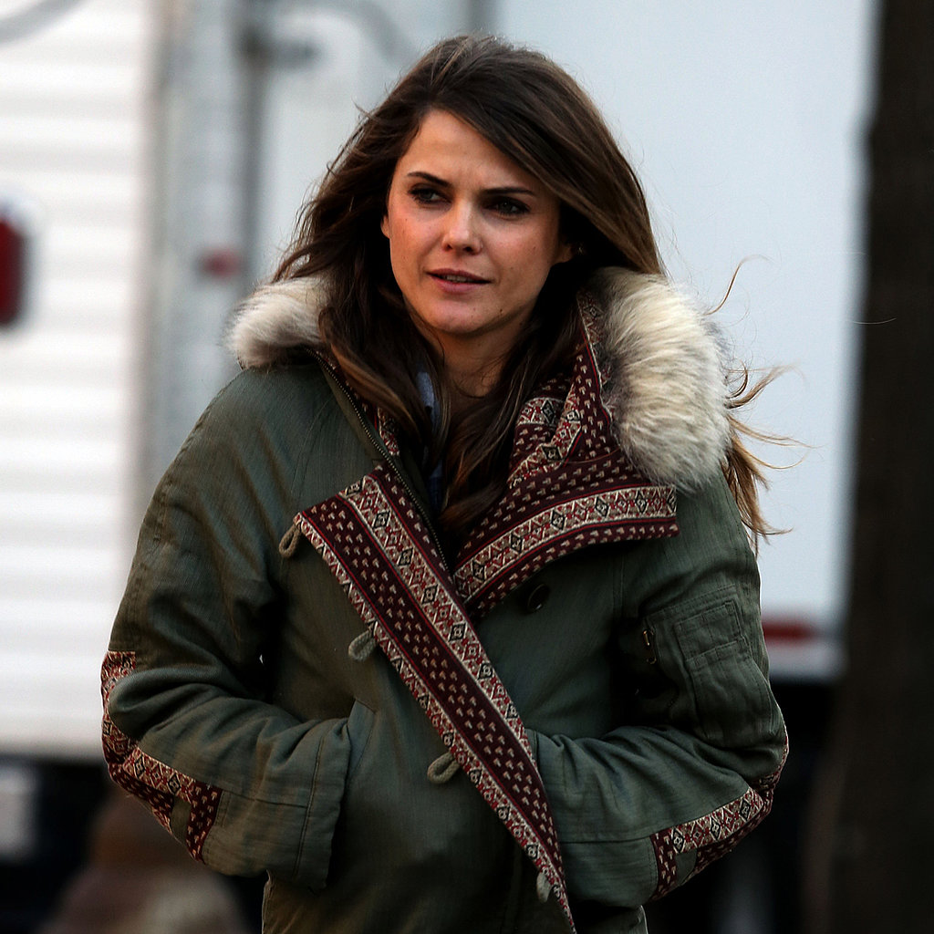 Keri Russell on the Set of The Americans in NYC | Pictures ...