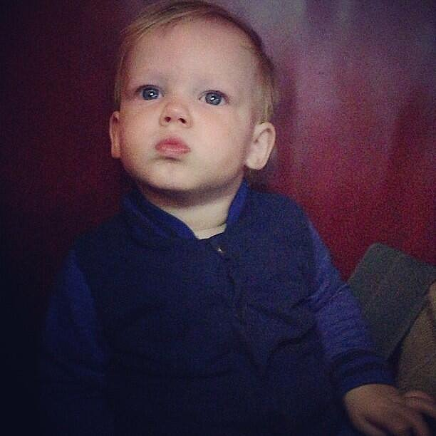 Luca Comrie did some serious thinking over the past week. Source: Twitter user HilaryDuff