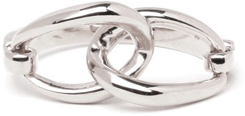 Silver Link Ring