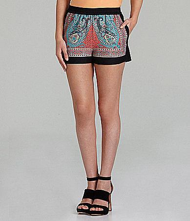 BCBGMAXAZRIA Isaac Printed Shorts