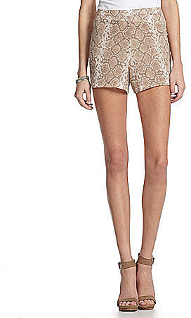 Buffalo David Bitton Patience Snake Print Shorts