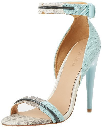 L.A.M.B. Women's Jazmyn Ankle-Strap Sandal