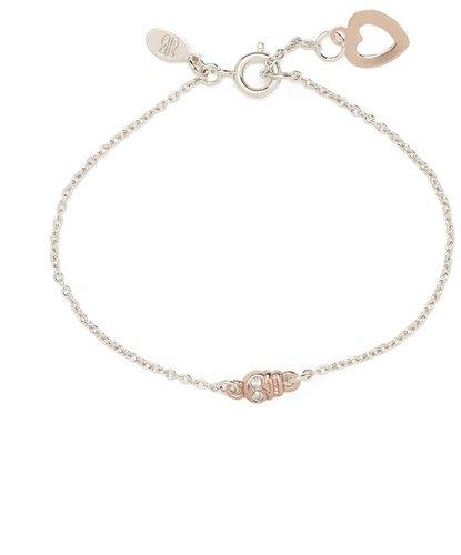 Bing Bang Rose Gold Skull Trinity Bracelet