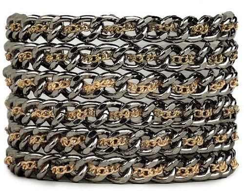 Noir Hybrid Link Cuff