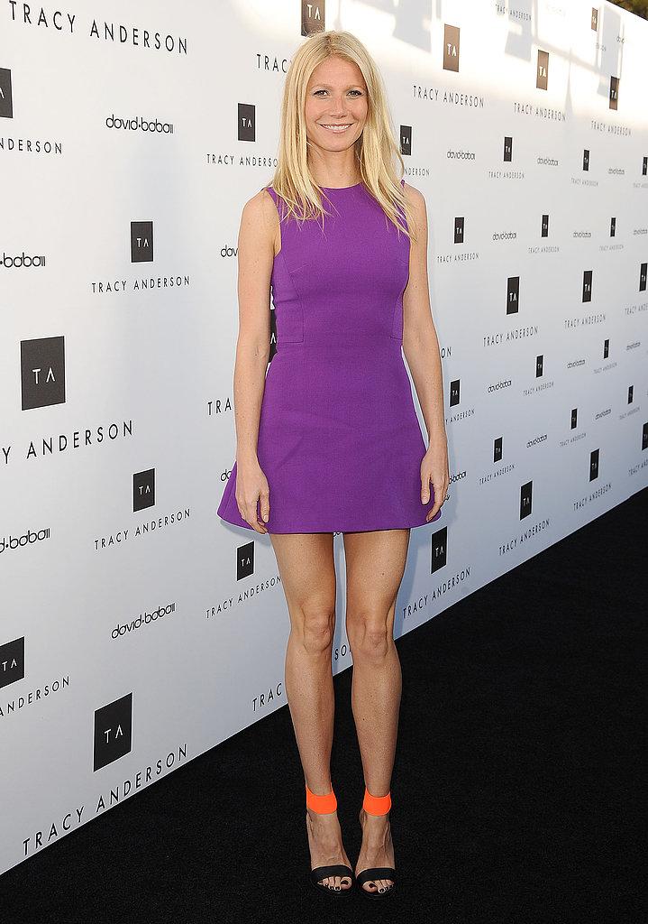 Gwyneth Promotes Girl Power and Tracy Anderson Alongside Kim Kardashian