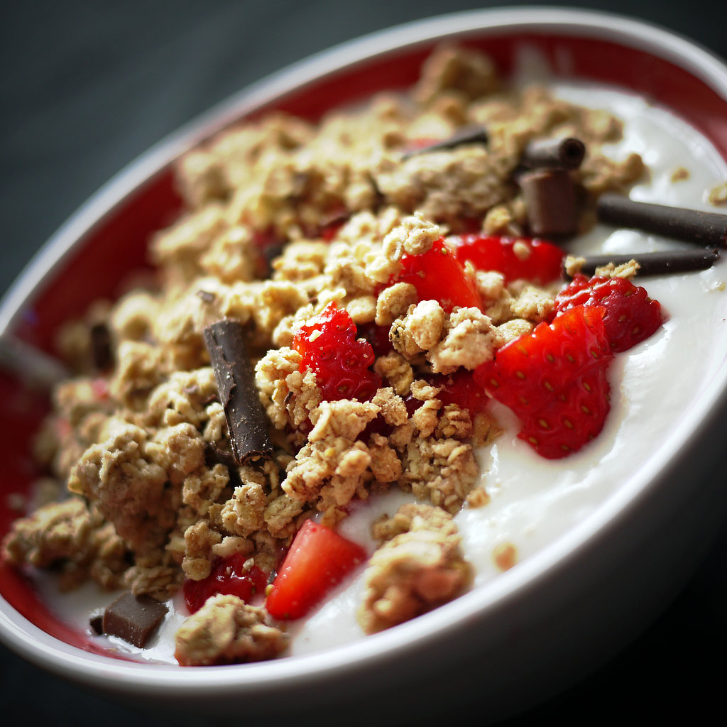 Yogurt, Granola, and Fruit