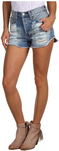 MINKPINK - Slasher Flick Short 1MK8396I (Denim) - Apparel
