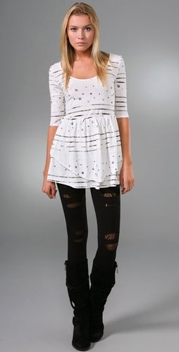 White dress Miley Cyrus