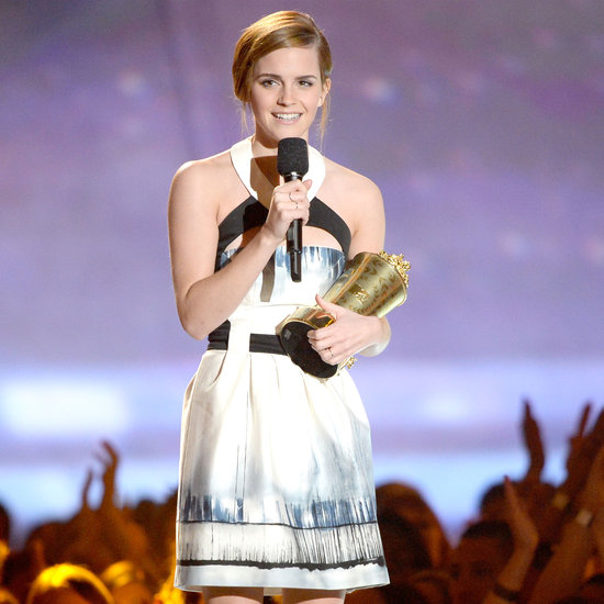 Emma Watson at the MTV Movie Awards 2013