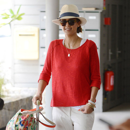 Jessica Alba and Nicole Richie Leaving St. Barts | Pictures