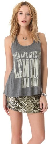 Haute hippie Life & Lemons Tank