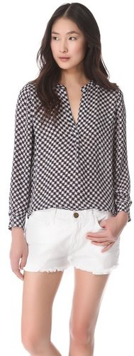Joie Peterson B Silk Blouse