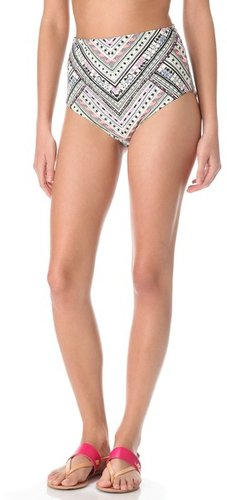Mara hoffman Nomad High Waisted Bikini Bottoms