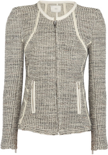 IRO Noelia metallic tweed jacket