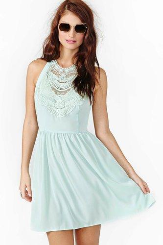 Desert Spring Crochet Dress