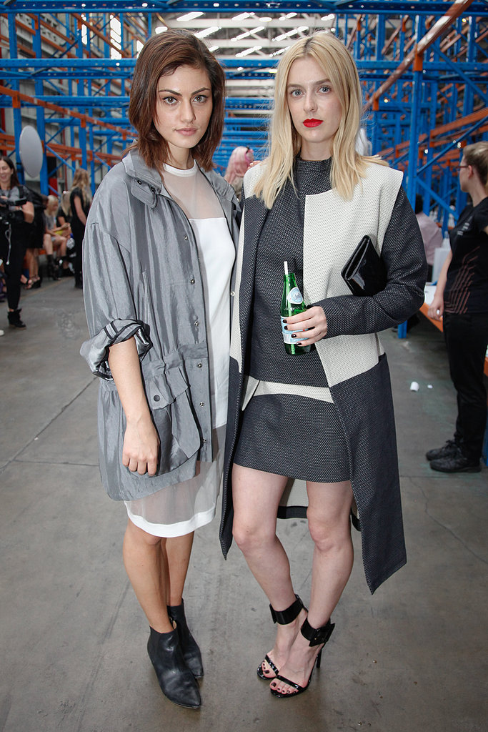Take note from this duo and try out sheer details and sleek lines for a look that's high on new-age cool.
