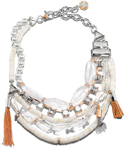 Crystal Clear Statement Necklace