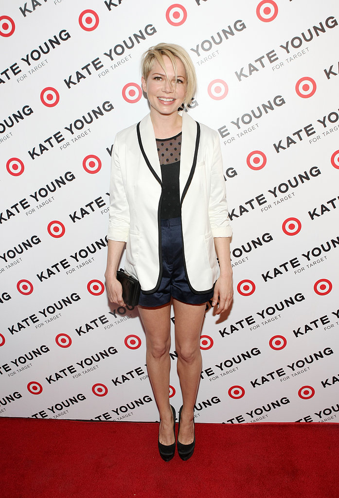 Michelle Williams Debuts a New 'Do at Her Stylist's Target Fete