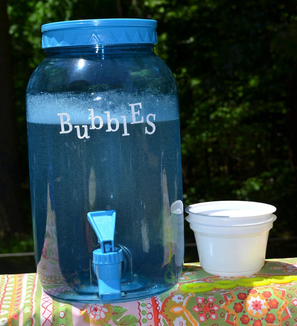 Set Up a Bubble Station