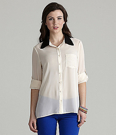 Catch My i Lace-Embellished Blouse